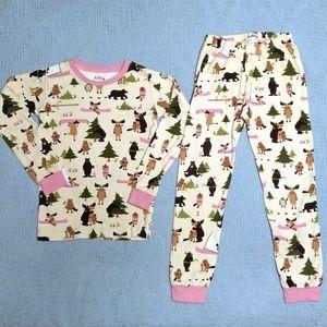 Hatley Bullwinkle Moose Pajamas Size 7